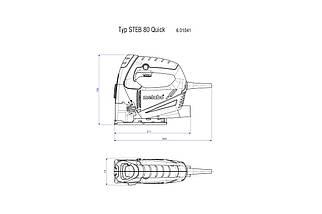 STEB 70 Quick Лобзик 570Вт, коробка, фото 2