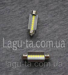 Светодиодная лампа 12 в. 42 мм.