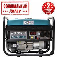 Бензиновый генератор Konner&Sohnen KS 3000 (3 кВт)