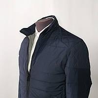 Куртка мужская демисезонная классическая синяя 52 размер
