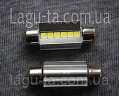 Светодиодная лампа 12 в. 39 мм.