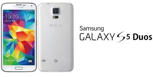..: Galaxy S5 Duos SM G900FD