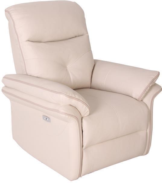 Кресло электро-реклайнер DM-03003 ткань айвори TM Bellini