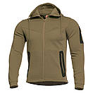 Оригинал Летний тактический свитер с капюшоном Pentagon PENTATHLON K08023 Large, Terra Brown (Коричневий), фото 2