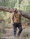 Оригинал Летний тактический свитер с капюшоном Pentagon PENTATHLON K08023 Large, Terra Brown (Коричневий), фото 5