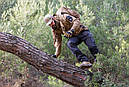 Оригинал Летний тактический свитер с капюшоном Pentagon PENTATHLON K08023 Large, Terra Brown (Коричневий), фото 6
