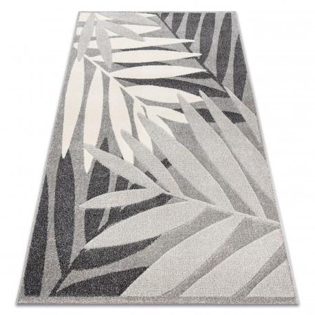 Ковер Лущув Feel 80x150 см серый прямоугольный (MO094)