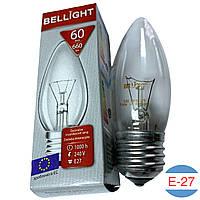 Лампочка свеча Bellight 60W (E27)