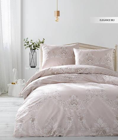 Постельное белье Ecosse Ranforce Elegance-bej Семейный, фото 2