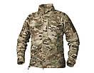 Оригинал Флисовая куртка Helikon-Tex ALPHA TACTICAL JACKET - GRID FLEECE BL-ALT Small, Койот (Coyote), фото 2