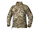 Оригинал Флисовая куртка Helikon-Tex ALPHA TACTICAL JACKET - GRID FLEECE BL-ALT Medium, Shadow Grey (Сірий), фото 2