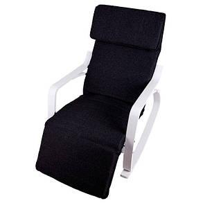 Кресло качалка Goodhome TXRC-03 White, 120кг, фото 2
