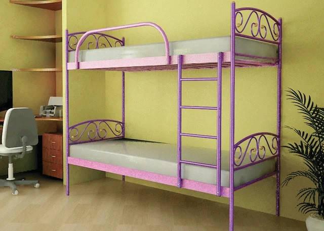 Двухъярусная металлическая кровать Верона Дуо / Verona Duo, фабрика Метакам, фото 2
