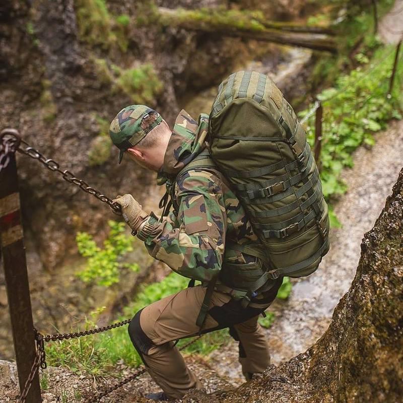 Оригинал Экспедиционные тактические горные усиленные штаны Pentagon VORRAS K05016 33/34, Чорний