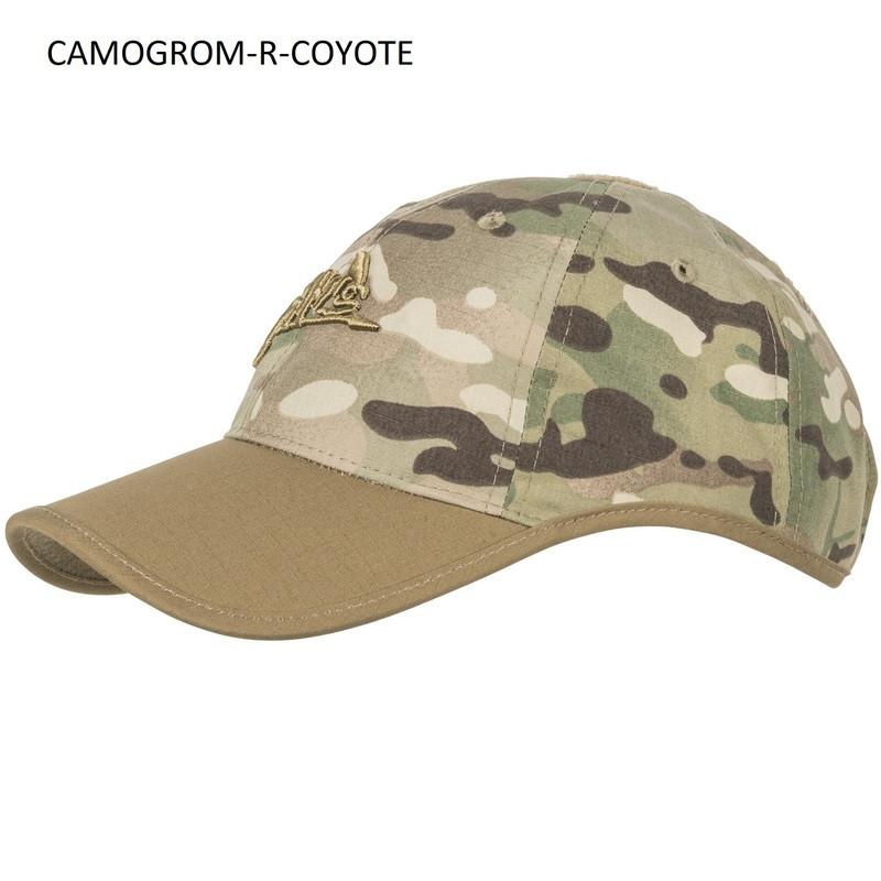 Helikon-Tex LOGO CAP PS-LGC-PR - POLYCOTTON RIPSTOP Camogrom®/Койот (Coyote)
