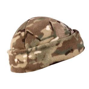 Оригинал Зимняя флисовая шапка Helikon-Tex WATCH CAP - FLEECE CZ-DOK-FL Camogrom