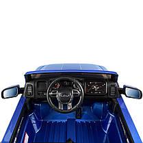 Детский электромобиль Bambi Ford Raptor синий M 4174, фото 3