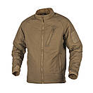 Оригинал Зимняя тактическая куртка Helikon-Tex WOLFHOUND JACKET (CLIMASHIELD®APEX 67G) KU-WLF-NL Large, Shadow, фото 5