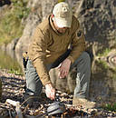 Оригинал Зимняя тактическая куртка Helikon-Tex WOLFHOUND JACKET (CLIMASHIELD®APEX 67G) KU-WLF-NL X-Large, Camogrom®, фото 2