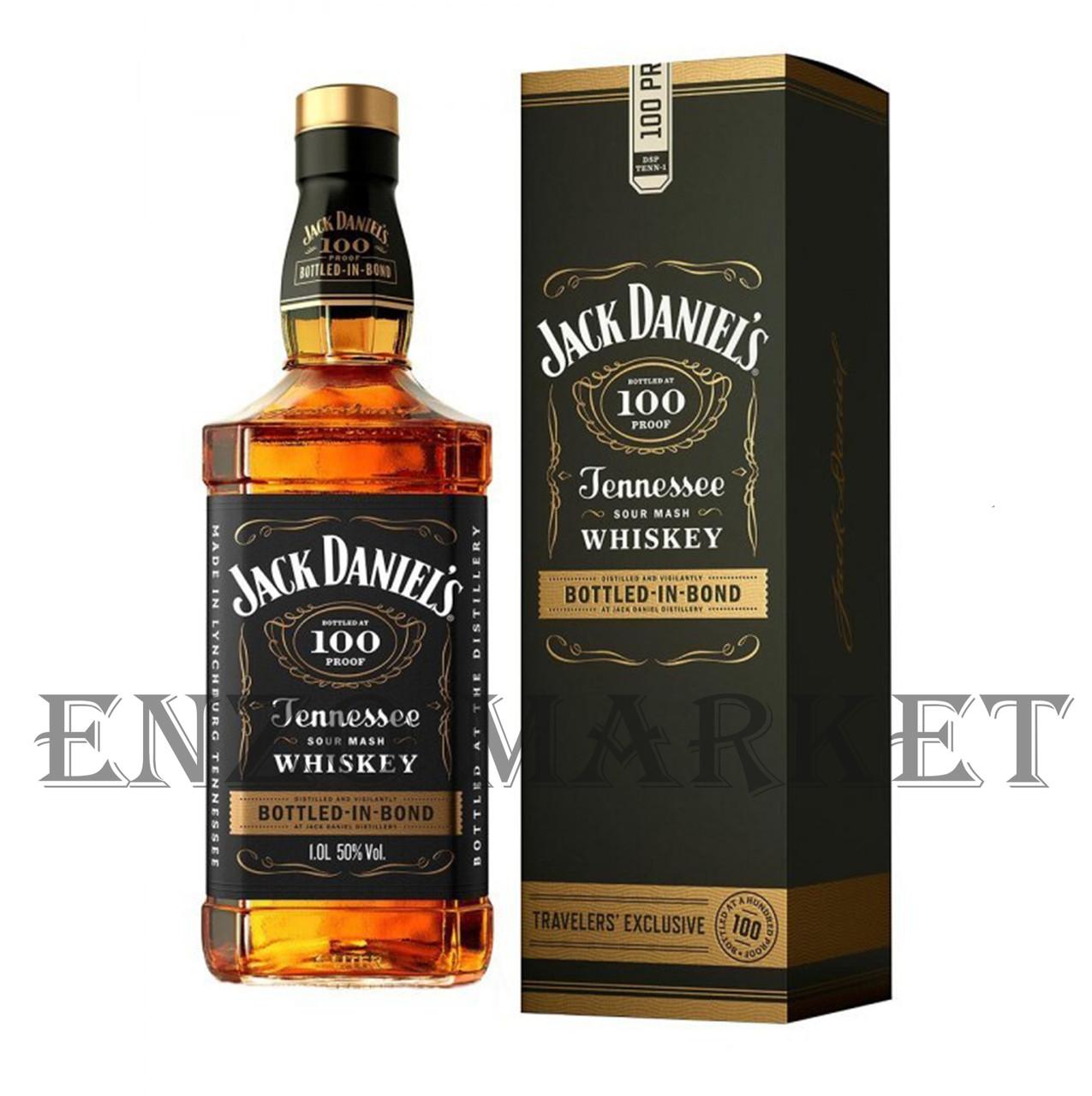 Виски Jack Daniels Bottled in Bond (Джек Дениелс Боттлед ин Бонд) 50% 1 литр