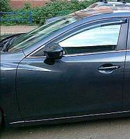 Ветровики передние 2 двери Mazda 6 2013+