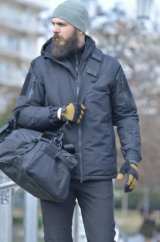Оригинал Зимняя утепленная мембранная тактическая куртка Pentagon LCP .THE ROCK. (PrimaLoft®Eco+Storm|Tex) K01004-2.0 Large, Койот (Coyote)