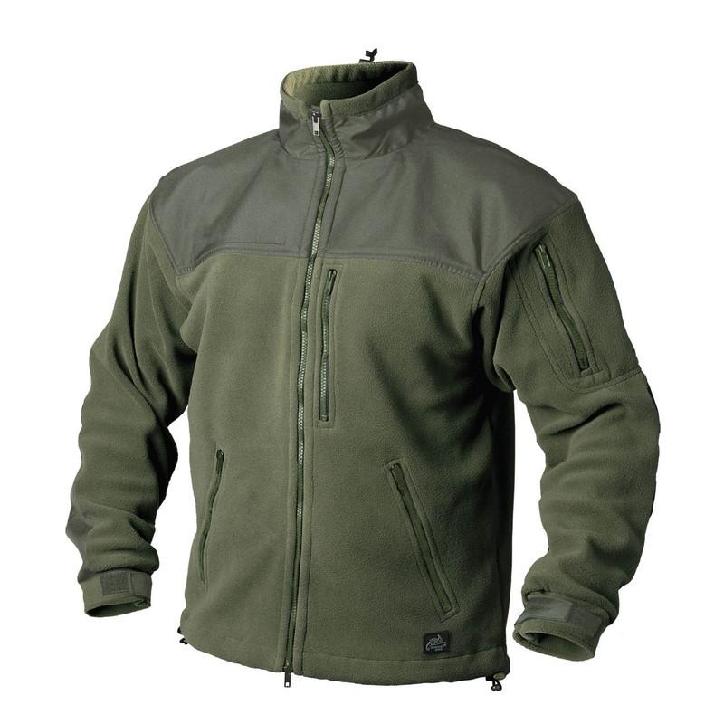 Оригинал Флисовая куртка Helikon-Tex CLASSIC ARMY JACKET - FLEECE BL-CAF-FL Large, Чорний