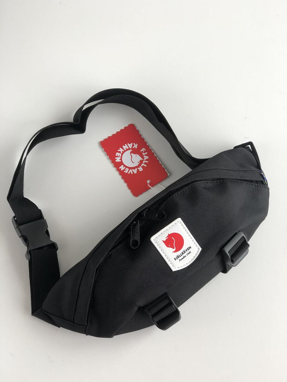 Поясная сумка Бананка Fjällräven Ulvo Hip Pack Medium Black