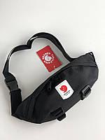 Поясная сумка Бананка Fjällräven Ulvo Hip Pack Medium Black, фото 1