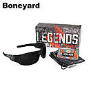 Edge Legends Ballistic Sunglasses w/Vapor Shield Anti-Fog Coating HL616 Boneyard, фото 2