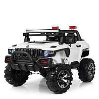 Детский двухместный электромобиль Hummer 4WD M 4107EBLR-1 белый