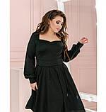 Платье Minova 1210-1-черный, фото 2
