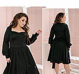 Платье Minova 1210-1-черный, фото 3