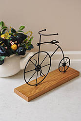 Статуетка Fibona Велосипед Farthing двухколесный 25х7х20 см