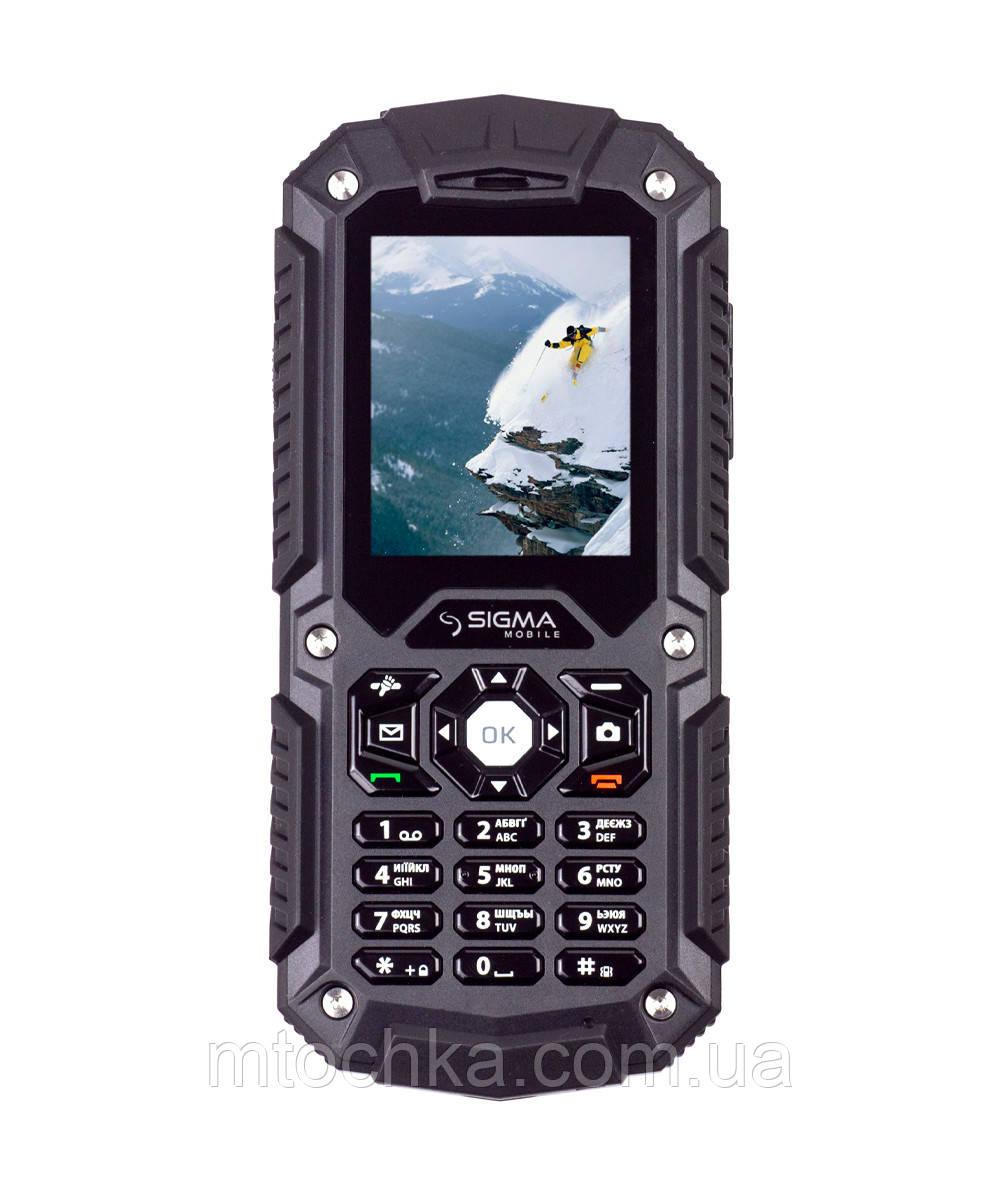Мобильный телефон Sigma mobile X-treme PQ67 (3G) black (официальная гарантия)