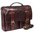 Кожаный мужской портфель-сумка Tony Bellucci, фото 3