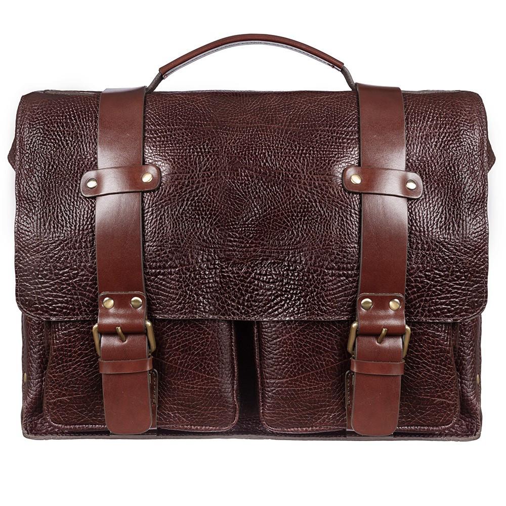 Кожаный мужской портфель-сумка Tony Bellucci