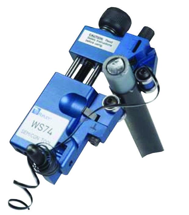 Інструмент для зняття напівпроводникового шару кабелів із зшитого поліетилену WS 76