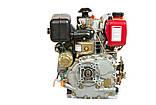 Двигатель дизельный WEIMA(Вейма) 178FE (6л.с. дизель) вал шлицы, фото 3