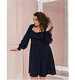 Платье Minova 1210-1-темно-синий, фото 4