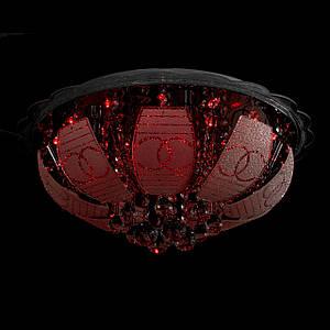 """Люстра """"торт - классика"""" с подсветкой на пульте управления (6 лампочек) P5-Y1488/6+28W/"""
