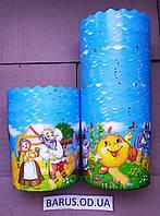 Бумажные формы для выпечки оптом 70*85 Сказочные персонажы