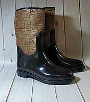 Женские резиновые утепленные сапоги,полусапоги,ботинки, фото 1