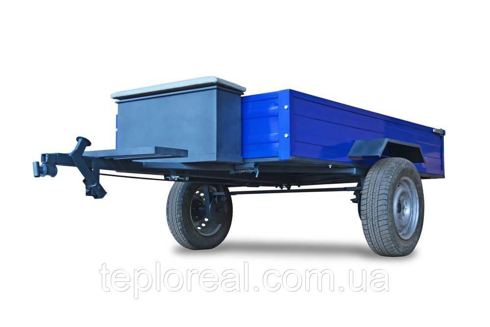 Тележка (прицеп) для мотоблока (1,25 х 1,95 м) под жигулевские ступицы (без покрышек и колес)