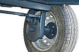 Візок (причіп) для мотоблока (1,25 х 1,95 м) під жигулівські маточини (без покришок і коліс), фото 9