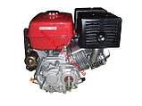 Двигатель бензиновый BULAT(Булат) BT190FE-L(16л.с.под шпонку с редуктором), фото 2