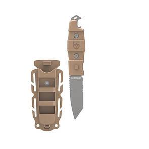 Оригинал Тактический дайверский нож на молле Gear Aid Kotu Tanto Knife 62040/62045 Койот (Coyote)