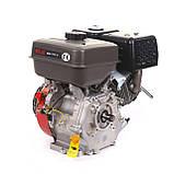 Двигатель BULAT (WEIMA) BW 177F -T(9л.с. бензин под шлиц, 25мм), фото 6