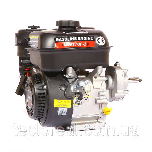 Двигун бензиновий WEIMA(Вейма) WM170F/P (DELUXE) для WM1050 (7,0 л. с. з редуктором)