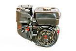 Двигун бензиновий WEIMA(Вейма) WM170F/P (DELUXE) для WM1050 (7,0 л. с. з редуктором), фото 3
